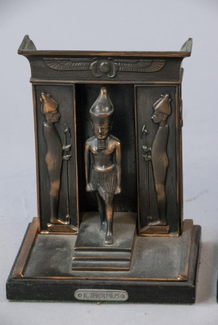 Two Pairs of Bookends - Egyptian & Mr. Bumble - 4