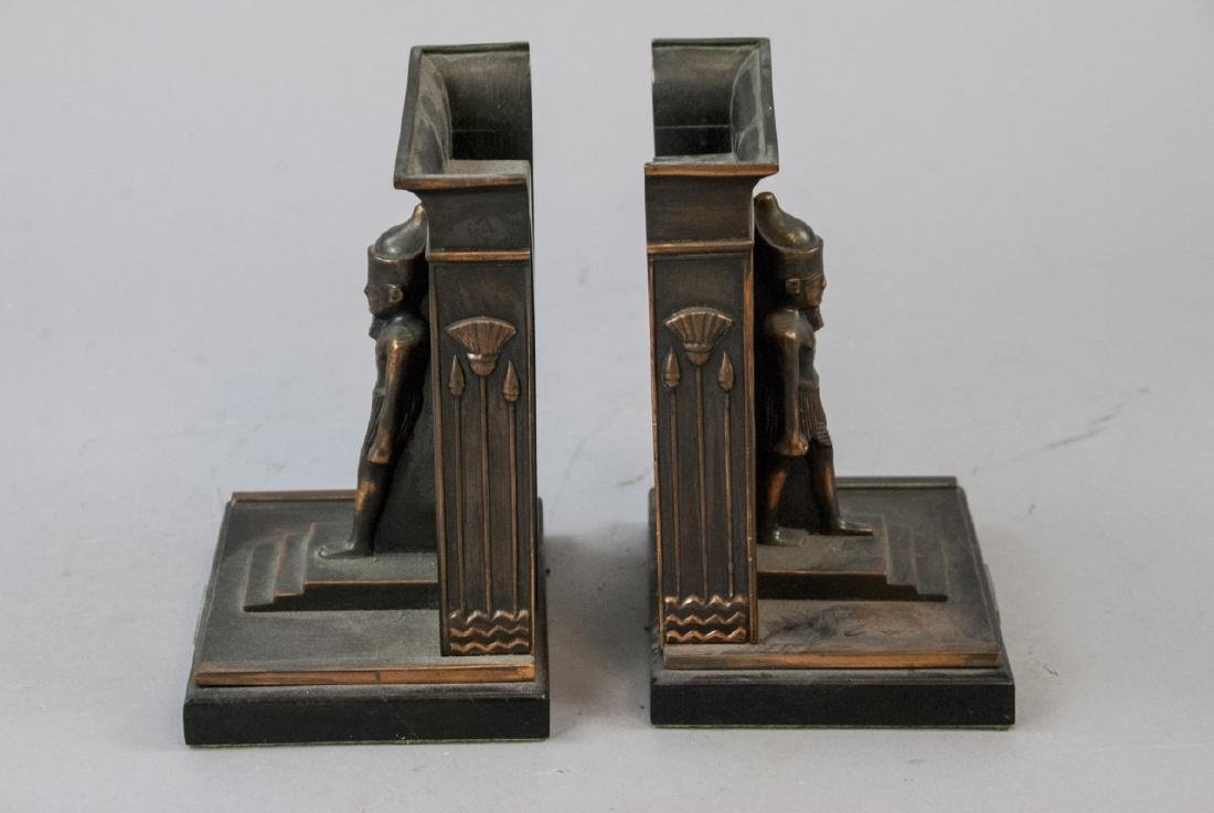 Two Pairs of Bookends - Egyptian & Mr. Bumble - 7