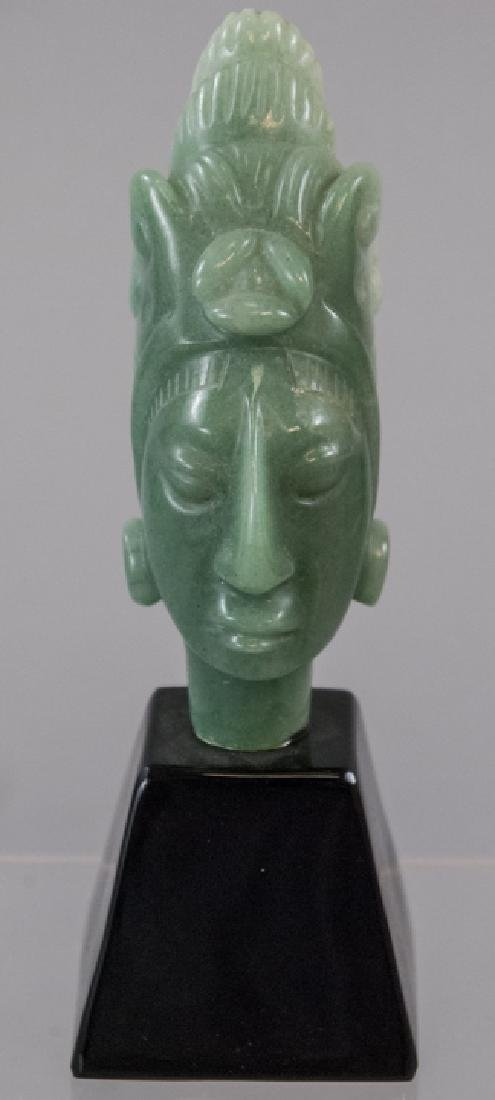 Hand Carved Hardstone South American Statue