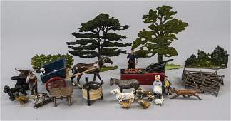 Lot of Antique Hand Painted Toy Figures Tradesmen