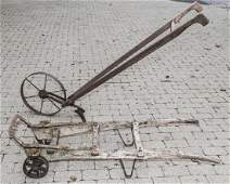 Two Antique Pieces of American Farm Equipment