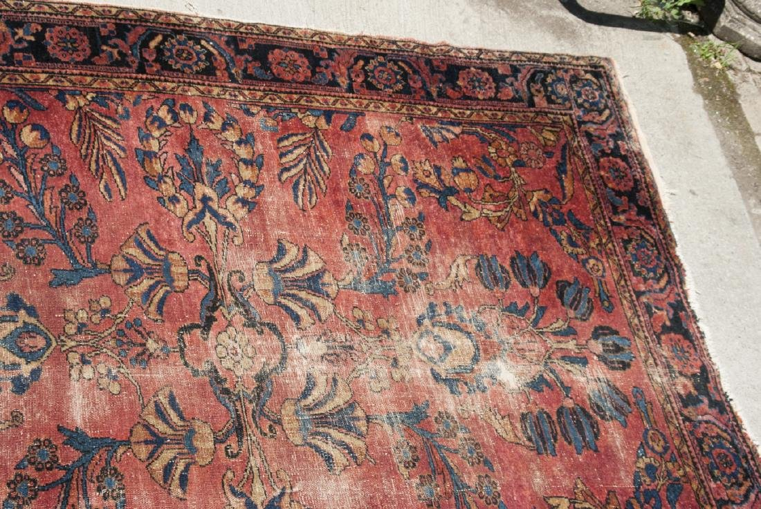 Antique Oriental Sultanabad Style Carpet / Rug - 3