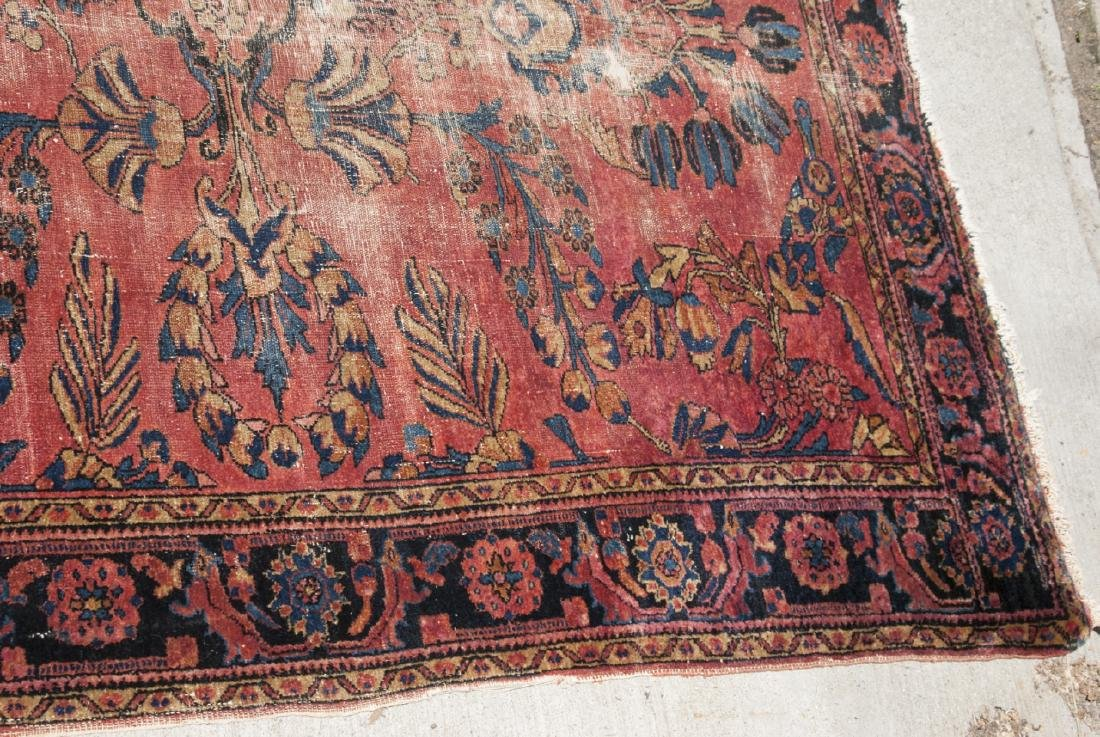 Antique Oriental Sultanabad Style Carpet / Rug - 4