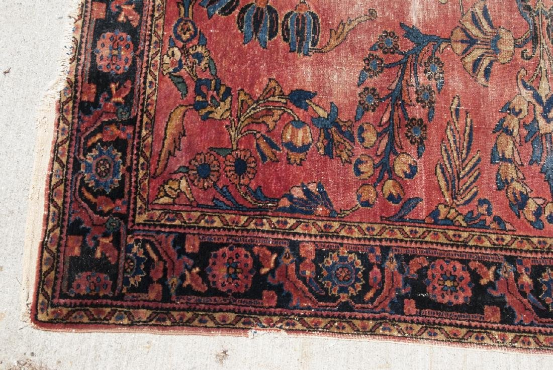 Antique Oriental Sultanabad Style Carpet / Rug - 5