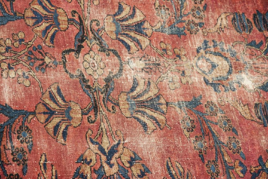 Antique Oriental Sultanabad Style Carpet / Rug - 6