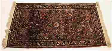 Antique Oriental Sultanabad Style Carpet  Rug