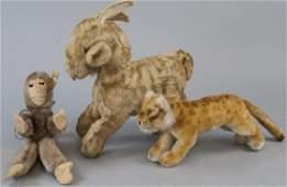 Lot of Vintage Steiff Animals