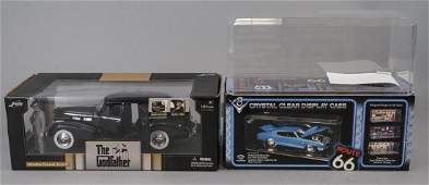 Vintage Boxed Godfather Collectors Diecast Car