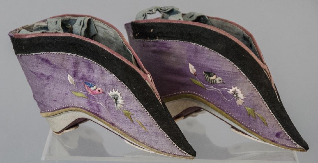 Antique / Vtg. Chinese Lotus / Foot Binding Shoes