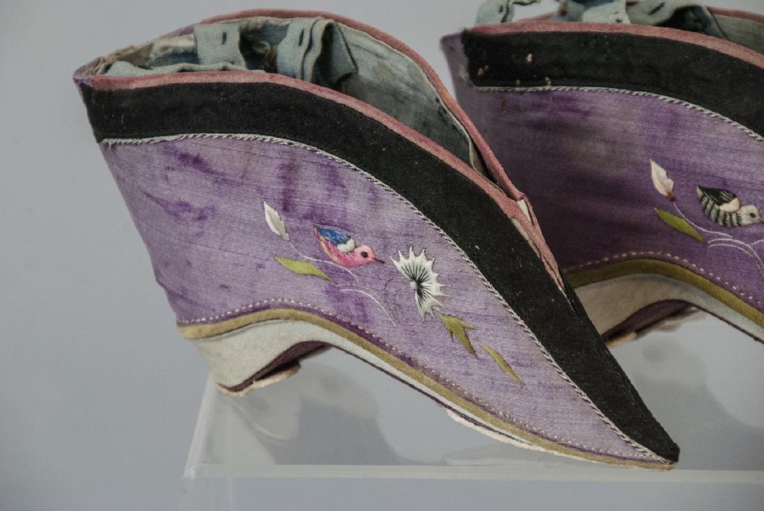 Antique / Vtg. Chinese Lotus / Foot Binding Shoes - 2