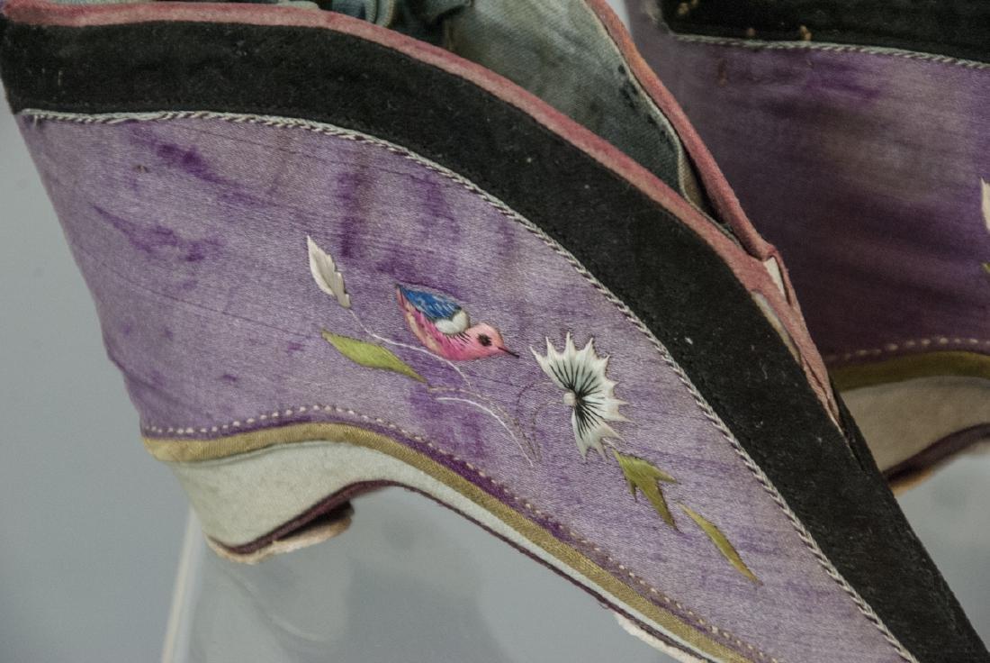Antique / Vtg. Chinese Lotus / Foot Binding Shoes - 4