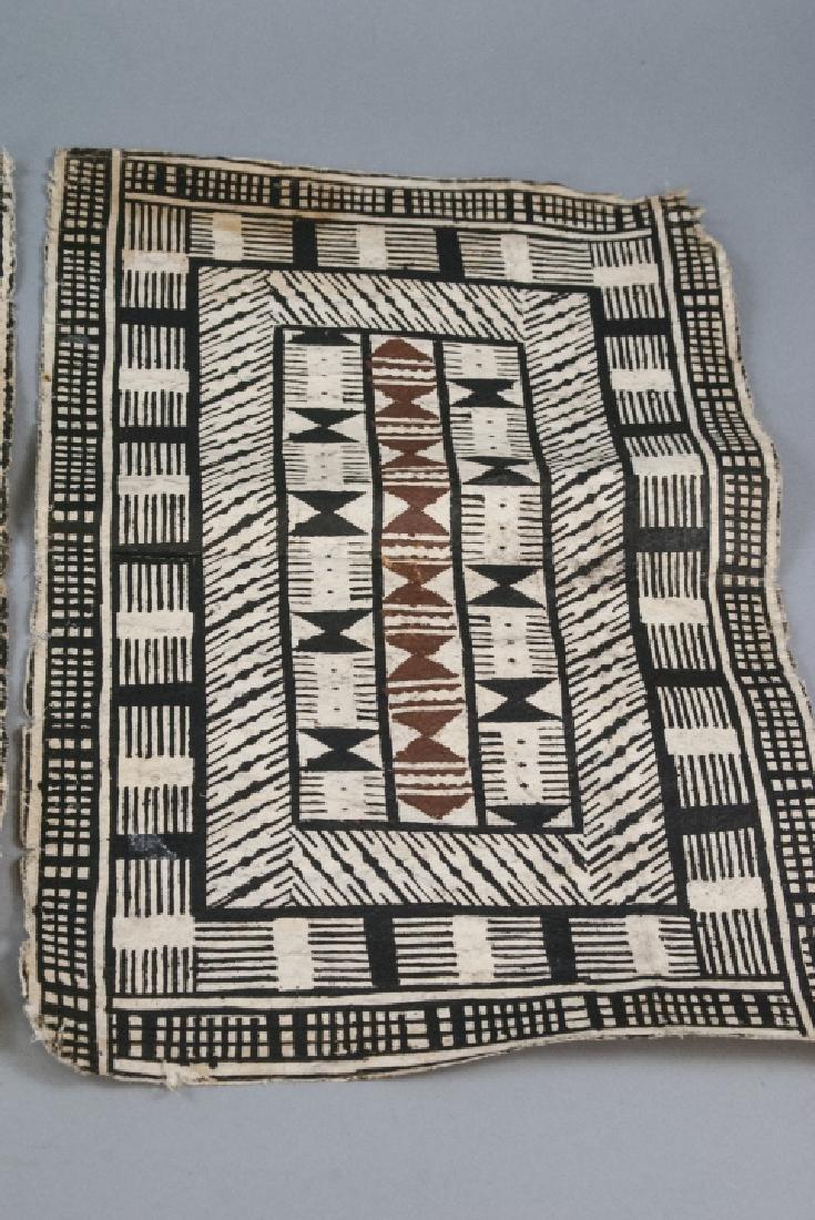 Mid Century Pair of African Geometric Tribal Art - 2