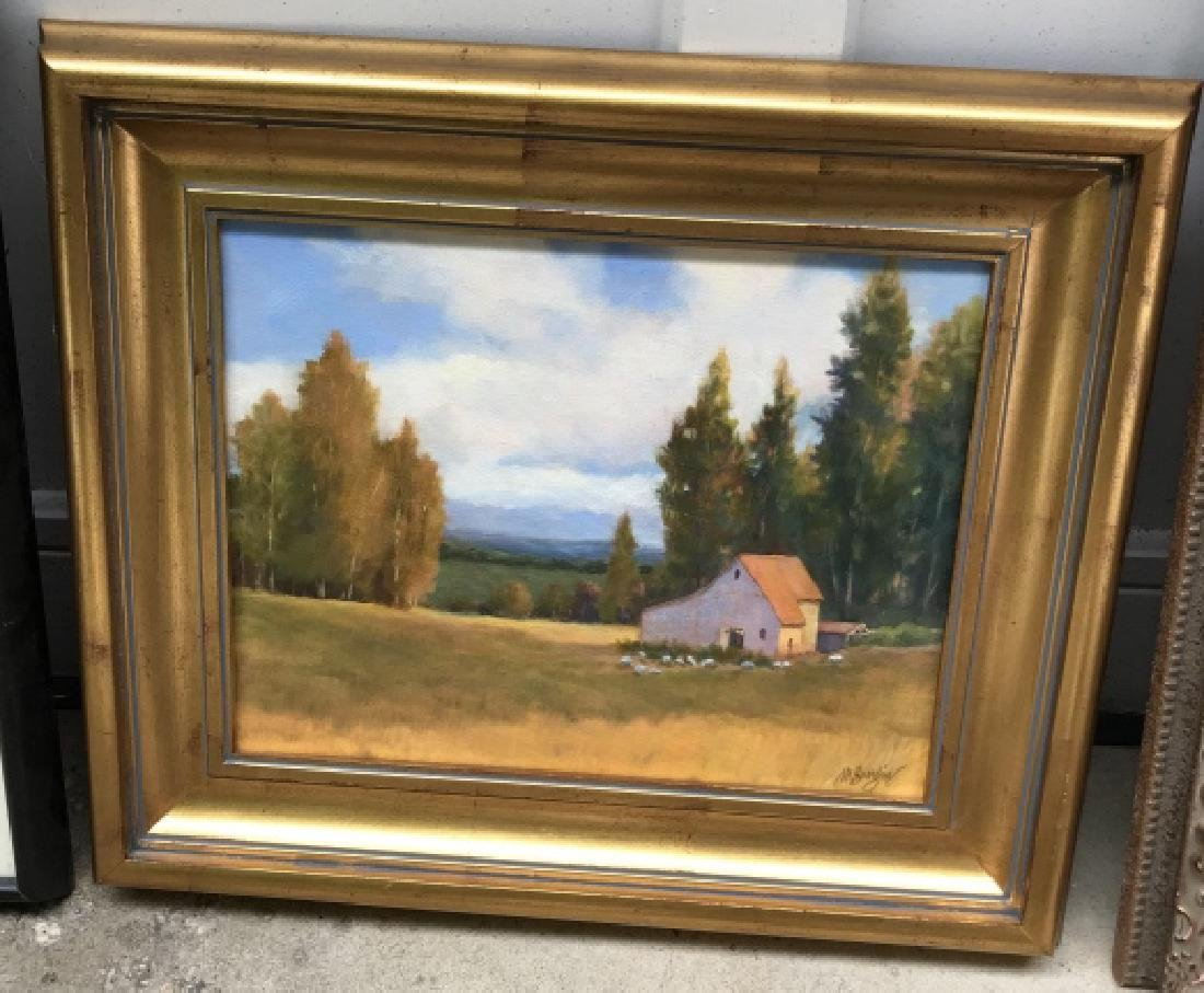 Contemporary Landscape Oil Painting on Canvas