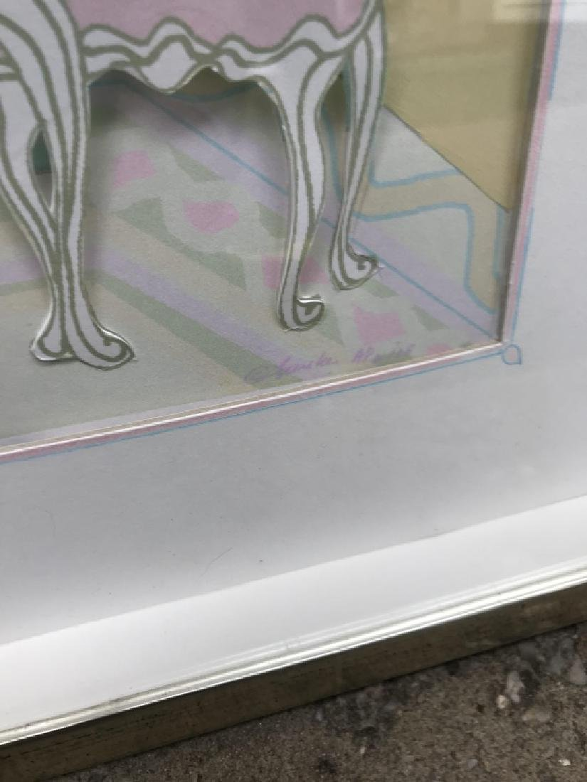 Contemporary Art Piece - 3D Paper Sculpture - 2