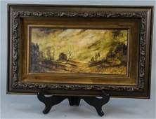 Wallace Fisher Original Landscape Oil Painting