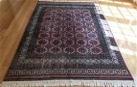 Bokara Style Silk Blend Oriental  Persian Carpet