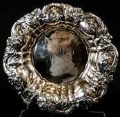 Sterling Silver Antique Art Nouveau Large Bowl