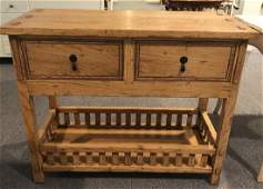 Guy Chaddock French Country Style Console Table