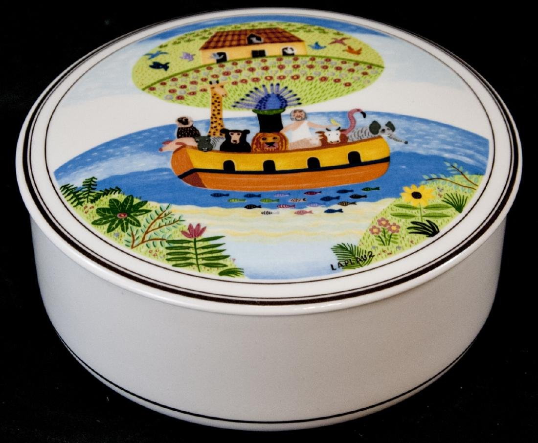 Villeroy & Boch Design Naif Lidded Trinket Box