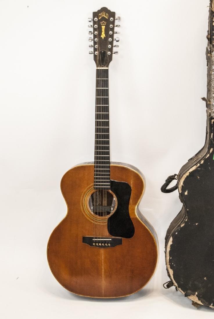 1970s Guild Acoustic Guitar Model No. F212XL-NT - 3