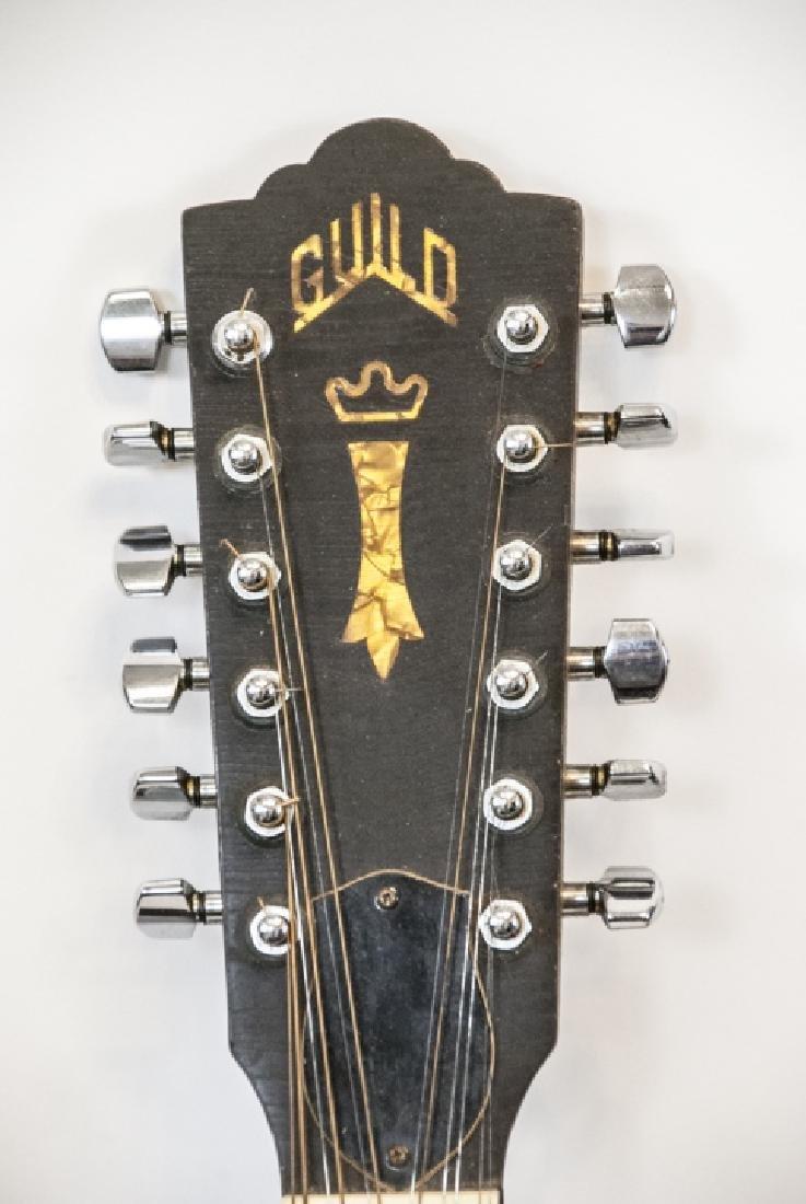 1970s Guild Acoustic Guitar Model No. F212XL-NT - 4