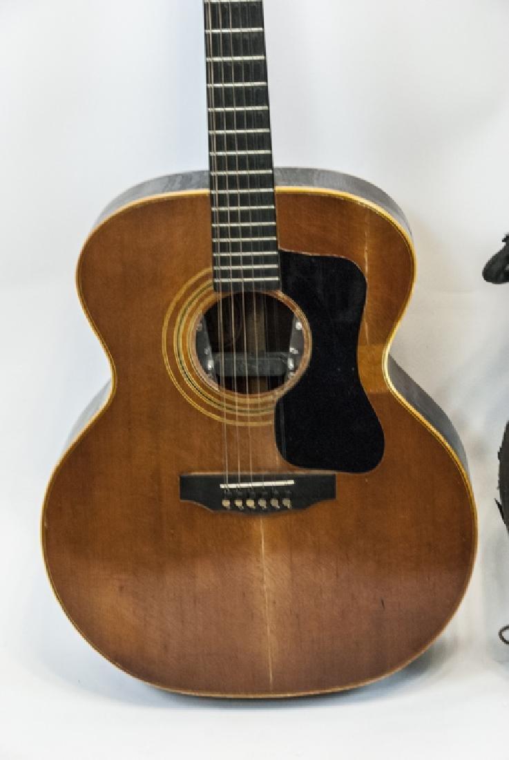 1970s Guild Acoustic Guitar Model No. F212XL-NT - 5