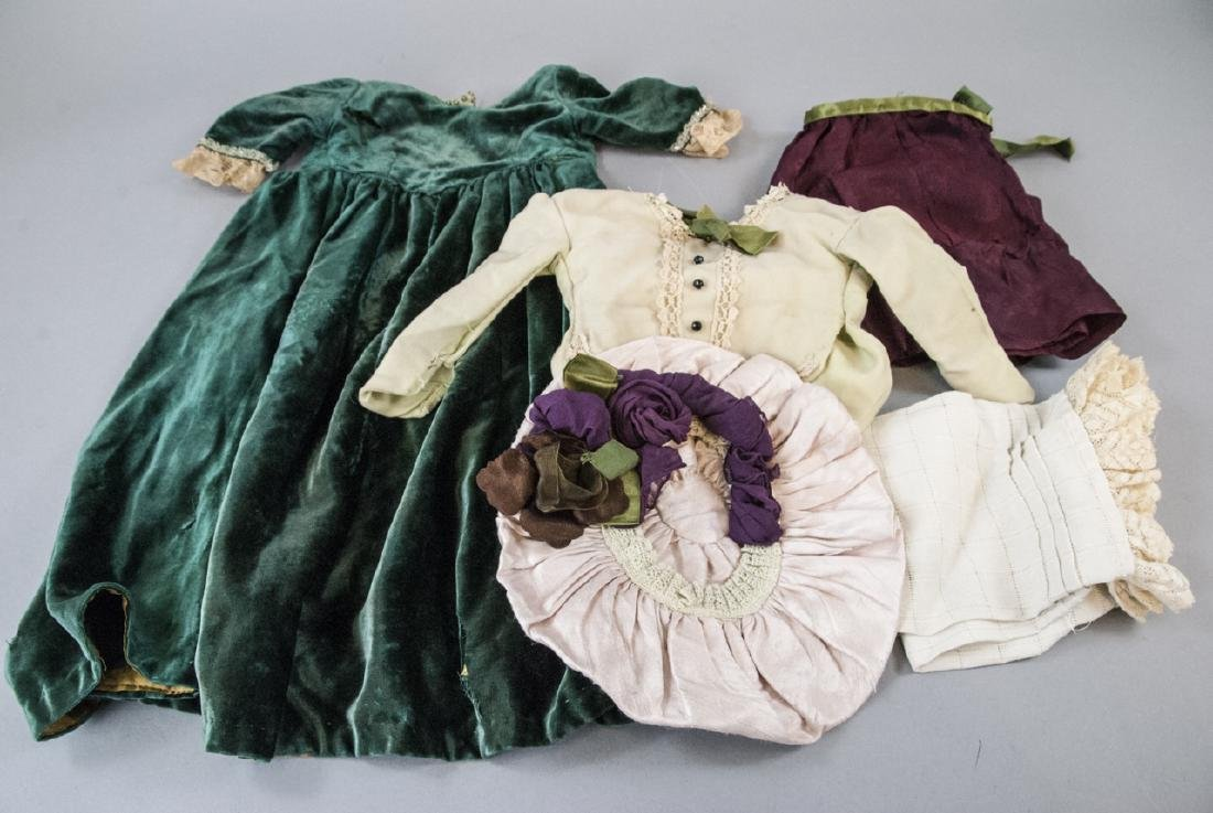 Antique Doll Clothes for French or German Dolls