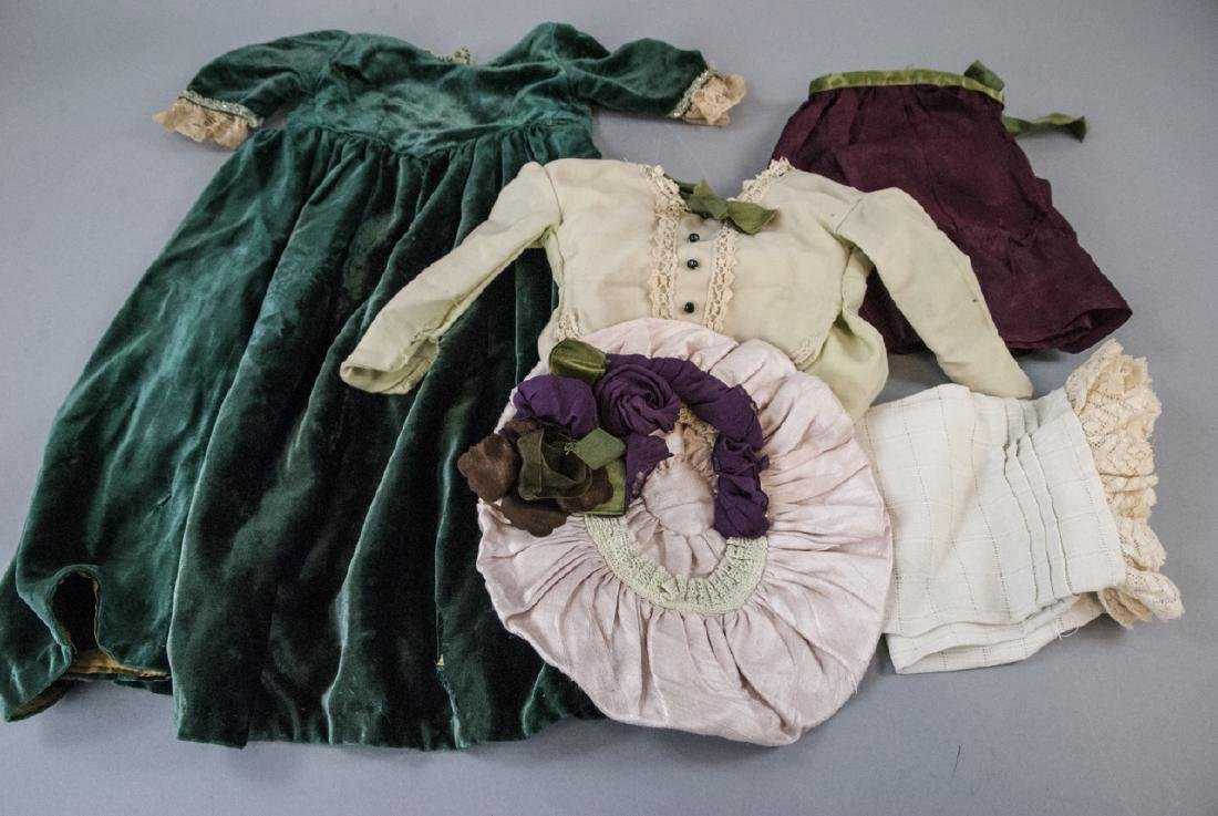 Antique Doll Clothes for French or German Dolls - 7