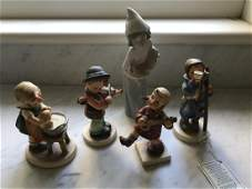 Collection of Hummels w Lladro Statue