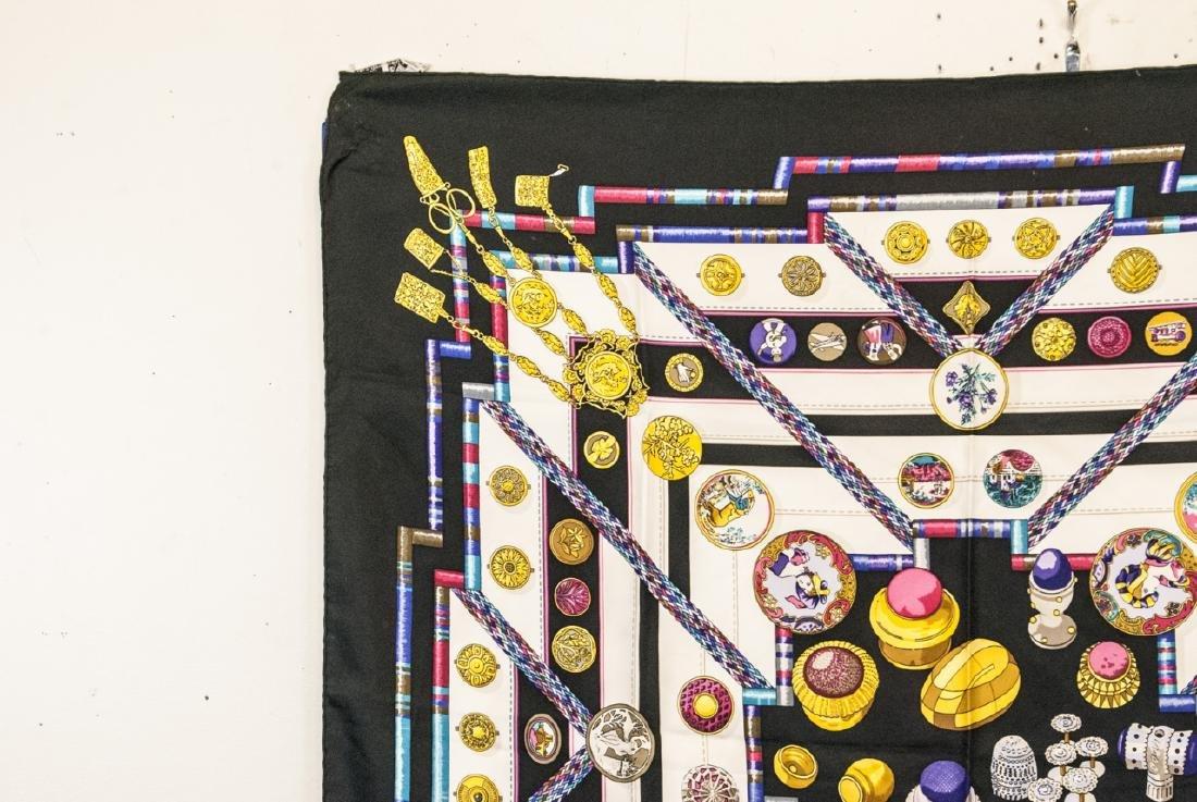 Vintage Hermes Paris Silk Scarf - 2