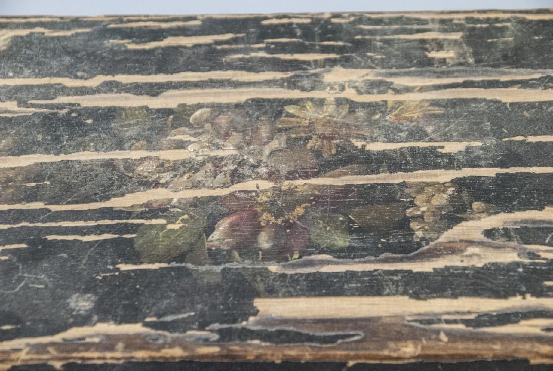 Antique 19th C American Folk Art Hand Painted Box - 3