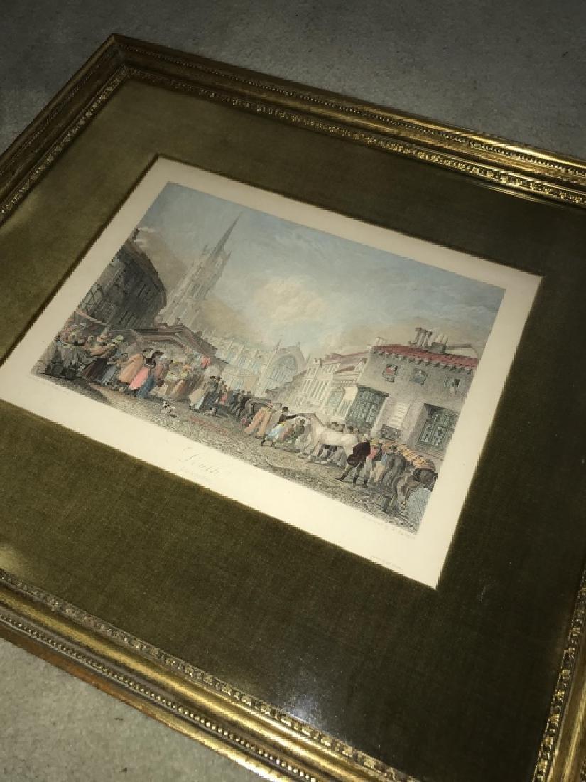 Antique Framed Engraving & Print - 2