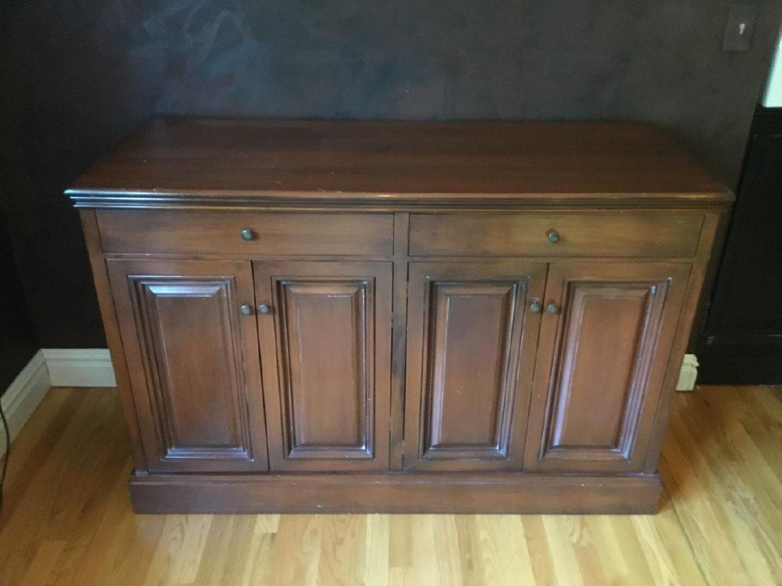 Traditional Style Walnut Credenza / Sideboard - 3