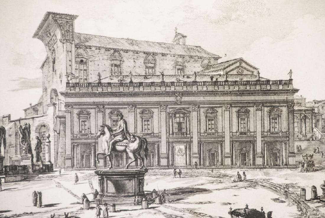 Cavalier Piranesi Piazza del Campidoglio Engraving - 3
