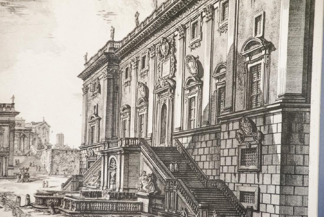 Cavalier Piranesi Piazza del Campidoglio Engraving - 4