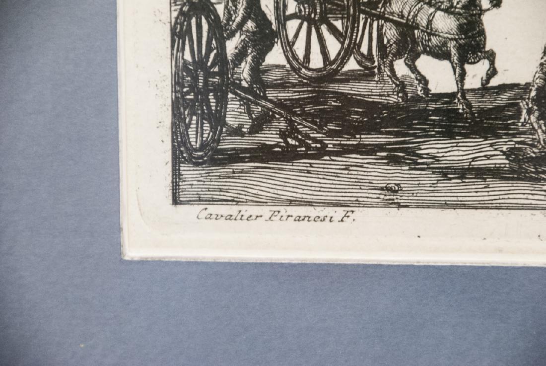 Cavalier Piranesi Piazza del Campidoglio Engraving - 6