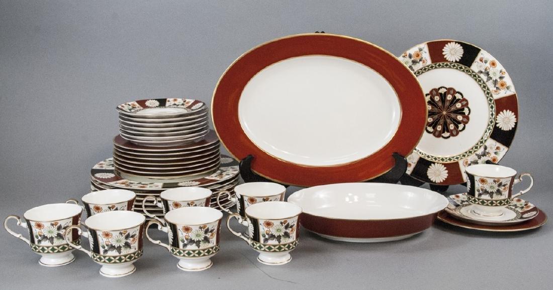 Mikasa Shogun Porcelain Dinner Service for 8