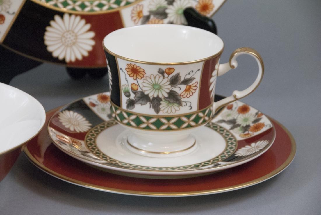 Mikasa Shogun Porcelain Dinner Service for 8 - 2