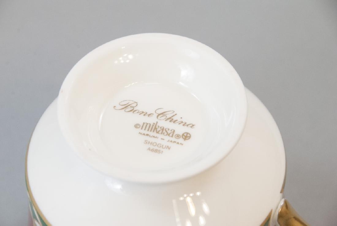 Mikasa Shogun Porcelain Dinner Service for 8 - 7