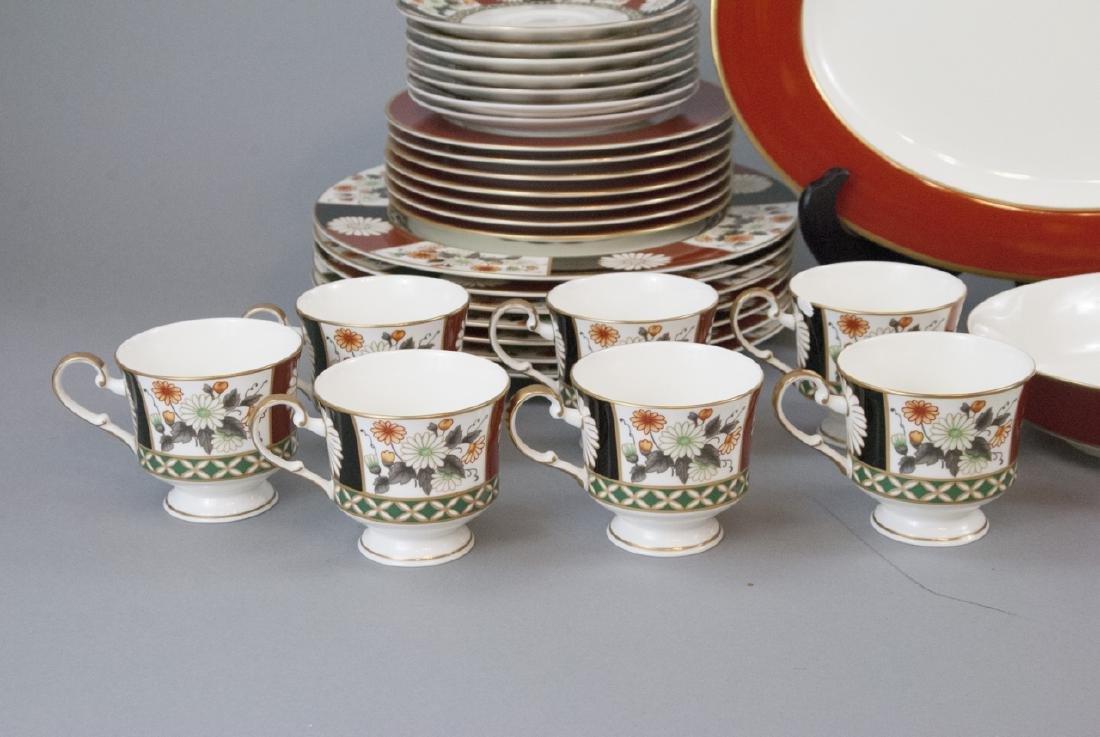 Mikasa Shogun Porcelain Dinner Service for 8 - 8