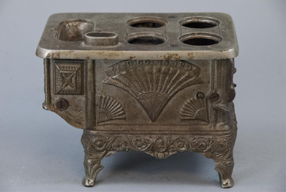 Antique 19th C Doll or Salesman Sample Stove