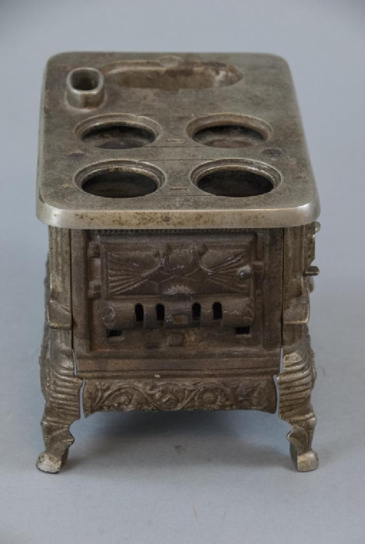 Antique 19th C Doll or Salesman Sample Stove - 5