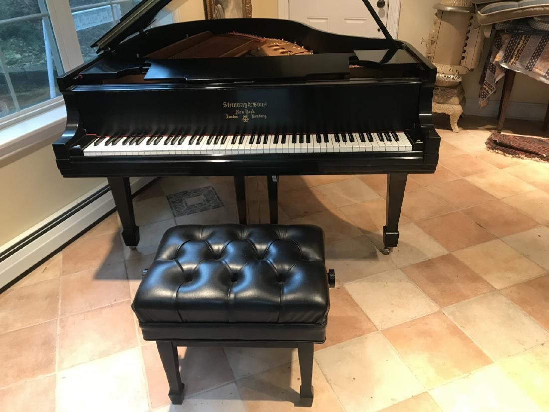 Steinway & Sons Baby Grand Piano Model M - 2