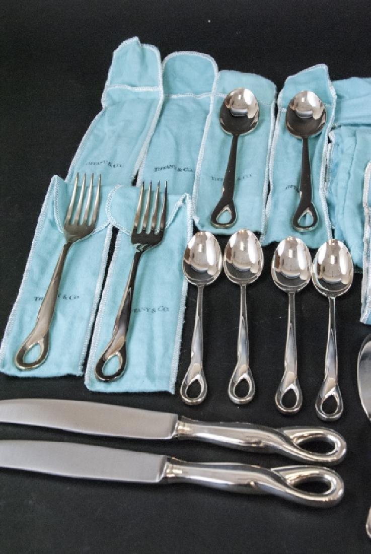 Elsa Peretti Tiffany Sterling Silver Flatware Set - 3