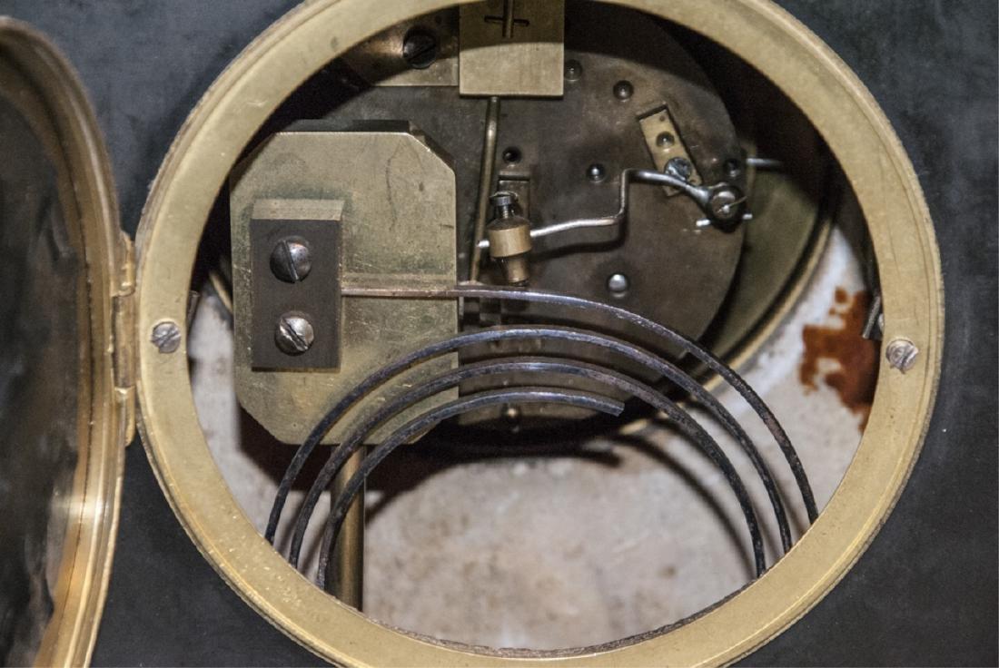 Antique 19th C Marble Clock by Marti et Cie - 5