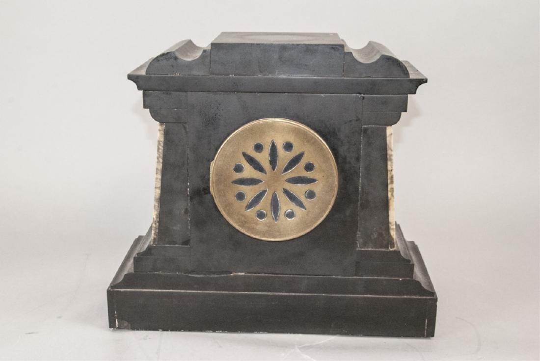 Antique 19th C Marble Clock by Marti et Cie - 6