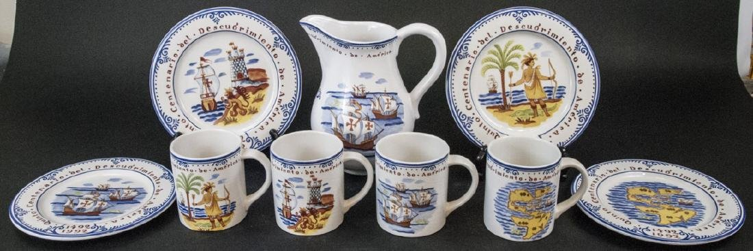 Tiffany & Co Christopher Columbus Pottery Set
