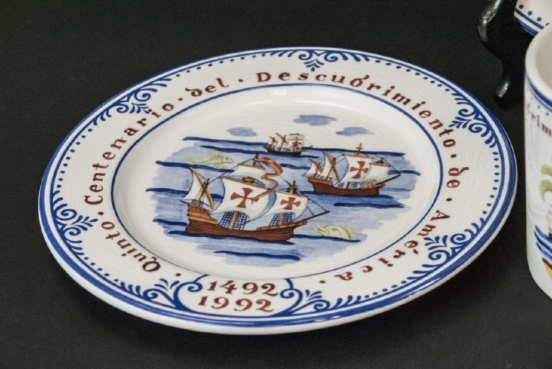 Tiffany & Co Christopher Columbus Pottery Set - 2