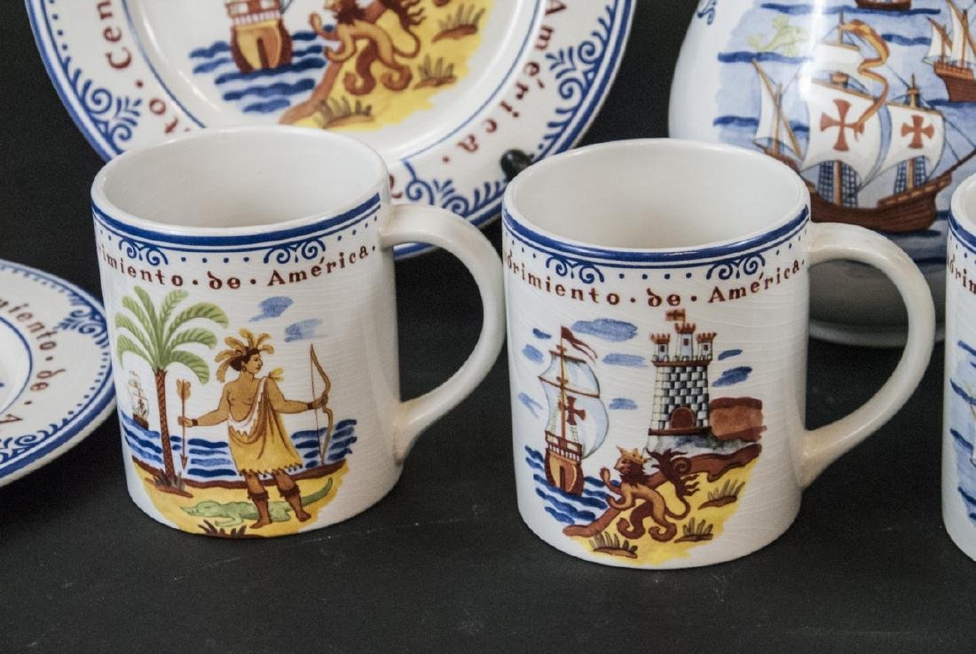 Tiffany & Co Christopher Columbus Pottery Set - 5