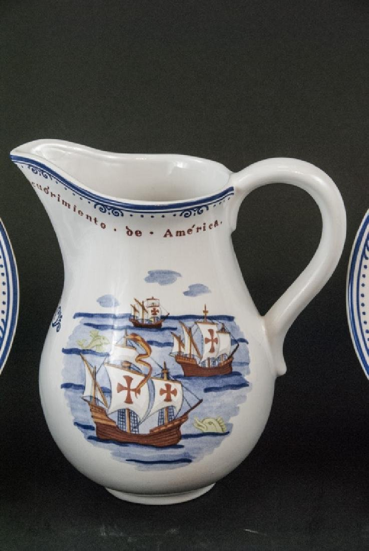 Tiffany & Co Christopher Columbus Pottery Set - 8